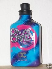 OC RSUN OH SO CRAZY MEGA BLACK BRONZER TANNING BED LOTION /SELF TANNER NEW FAST