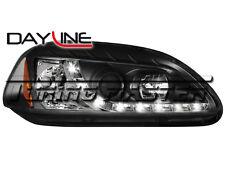 Honda Civic 96->98 Fari Anteriori Dayline Neri
