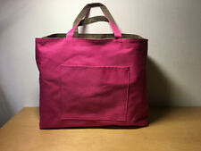 Used - Canvas Bag Canvas - 14 3/16x5 7/8x11 13/16in - Pink Colour Pink - Used