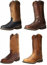 """Chippewa Men's 12"""" Round Toe Cowboy Work Pull On Boot Made in USA"""