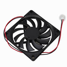 Quiet 5V Brushless 80x80x10mm DC Cooling Case Fan 8cm For PC Computer Cooling
