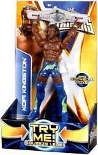 BRAND NEW AND SEALED! WWE KOFI KINGSTON SUPER STRIKER! ACTION FIGURE!
