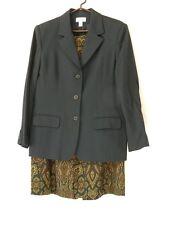 Talbots Black Blazer, Suit Jacket (only) 100% Wool Summer Weight Size 14