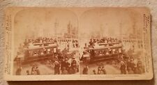 Rare Antique Underwood Stereoview Card Foreign Nations Expo 1900 Paris, France