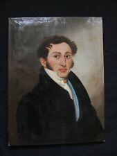 """Superbe école Française du XIX e siècle époque Empire """"  portrait d'homme """""""