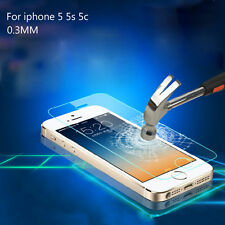 TEMPERED GORILLA GLASS SCREEN PROTECTOR for iPHONE 5 5S 5C HIGH QUALITY FILM