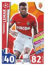 Thomas Lemar  2017-18 Topps Champions League Match Attax,Sammelkarte,#246