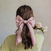 Chiffon Streamers Bow Scrunchies For Women Hair Tie Rubber Band Ponytail Holder