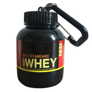 Small Water Cup Protein Powder Bottle Medicine Holder Advertising Health Funnel