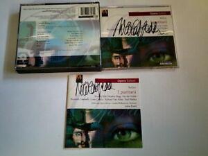Universal CD - I Puritani - 2x signiert von Nicolai Gedda