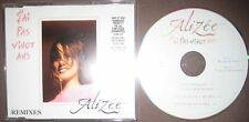Maxi CD Single J'Ai Pas Vingt Ans Remixes - Alizée Jacotey --- Mylene Farmer MCD