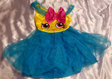 SPIRIT HALLOWEEN Cupcake Queen Shopkin Costume w/Headband - Size 4-6X S/P(GIRLS)