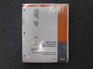 Case 621C Loader Parts Catalog Manual 7-4551 2000