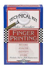 Lagoon Finger Printing Kit Xmas Birthday Police Procedure Technical Kit 8yrs +