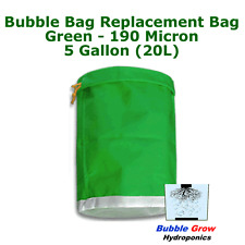 GREEN 190 MICRON 5 GALLON (20L) BUBBLE BAG FILTRATION HERBAL ICE EXTRACTION