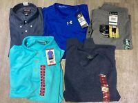 NEW!! Men's Clothing Wholesale 10 Piece Bundle Box Lot