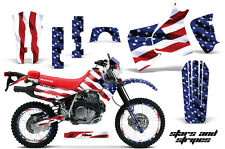 AMR Racing Honda XR 650L Graphic Decal Number Plate Kit Bike Stickers 93-15 USA