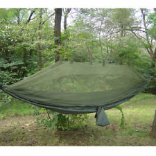 Snugpak Lightweight Olive Green Jungle Hammock with Mosquito Net