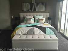 Somerset Bedhead and Blanket Box / Double Size Bedheads and Ottomans