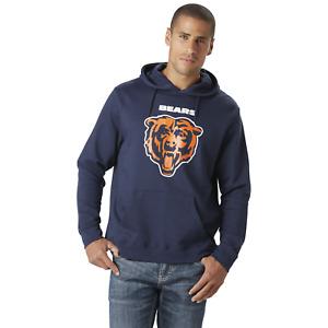 Majestic Men's Big/Tall NFL Critical Victory Pullover Hood Bears 3XL #NJUB0-773*