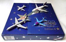Herpa Wings 1:500 513333 Christmas 2002 Advent Calendar Airplane Model Set of 4