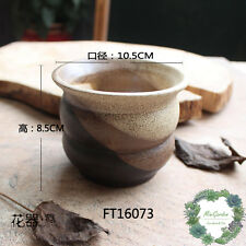 Elegant Unglazed Clay Pots/ Succulent Planter/FT16073