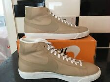 Nike Blazer Mid Premium Leather QS 429988-202 UK 10.5 EUR 45.5 Light fawn Q2