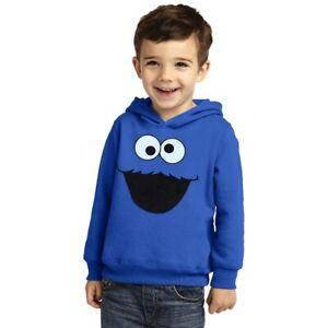 Cookie Monster Face Toddler Hoodie