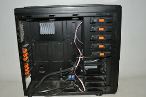 Xigmatek Midgard Gehäuse PC Computer schwarz Leergehäuse Tower Case Chassis