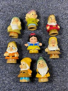 Disney Fisher Price Little People Snow White & The 7 Dwarfs Figures