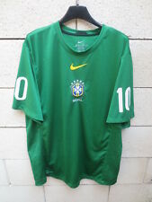 Maillot BRESIL BRAZIL World Cup 2010 pre match training shirt 10 KAKA jersey XL