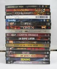 Lot of 17 Halloween Scary Thriller Horror Movies Hostel Saw Devil Rejects DVDs
