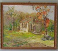 Mary Bondra Painting Massachusetts Artist New England Landscape 1930's
