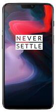 Oneplus 6 A6000 64GB 6GB Octa-core LTE (Dual Sim) - Spiegel Schwarz- Global Ver.