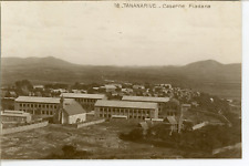 Madagascar, Tananarive, Caserne Fiadana  Vintage silver print. Postcard paper