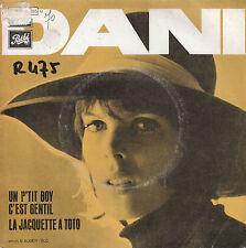 """7"""" 45 TOURS FRANCE DANI """"Un P'tit Boy C'est Gentil +1"""" 1969 ALAIN GORAGUER"""