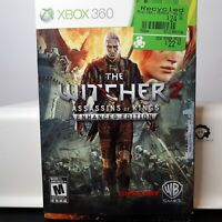 The Witcher 2: Assassins Of Kings - Enhance ( Microsoft Xbox 360 X BOX ) Tested