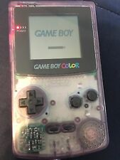 Gameboy Color Atomic Purple Nintendo Handheld Gaming System CGB-001
