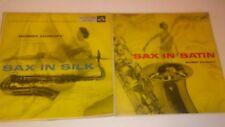 Bobby Dukoff Lot 2 Vinyl Records Sax in Satin & Sax in Silk