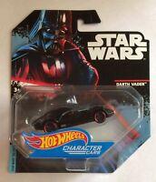 Star Wars Hot Wheels Darth Vader Car BNIP Brand New DXP38 Rogue One Style