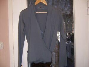 Damen Jacke Wickeltechnik  -  LANIUS  -  Gr. 40  -  Khaki