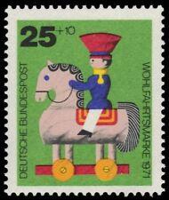 "GERMANY B477 (Mi706) - Wooden Toys ""Horseback Rider"" (pa79137)"