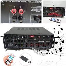 Car/Home Bluetooth 2.0 1200W Audio Power HiFi Amplifier 326BT w/ Remote Control