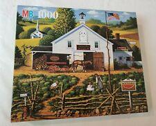 Charles Wysocki's Americana 1000 Piece Puzzle Sleepy Fox Farms 4679-6