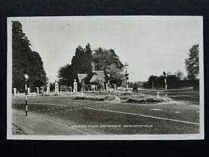 Buckinghamshire BEACONSFIELD Wilton Park Entrance - Old RP Postcard