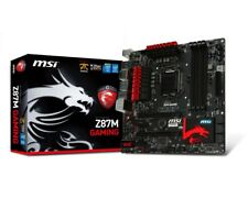 MSI Z87M GAMING microATX Motherboard with IO Shield - Intel, LGA 1150