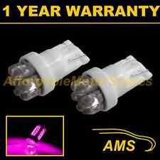 2x W5W T10 501 xénon dôme rose 7 LED éclairage latéral côté ampoules hid sl100402