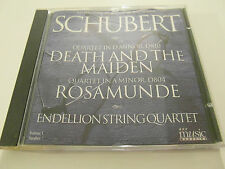BBC Music - Schubert, Death & The Maiden + Rosamunde (CD Album) Used Very Good