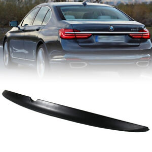 Unpaint Fit For BMW 7-Series G11 G12 Saloon Trunk Boot Spoiler 740Ld 750i 16-21