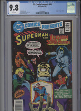DC COMICS PRESENTS #43 MT 9.8 CGC LEGION OF SUPERHEROES WHITE PAGES BOLLAND COVE